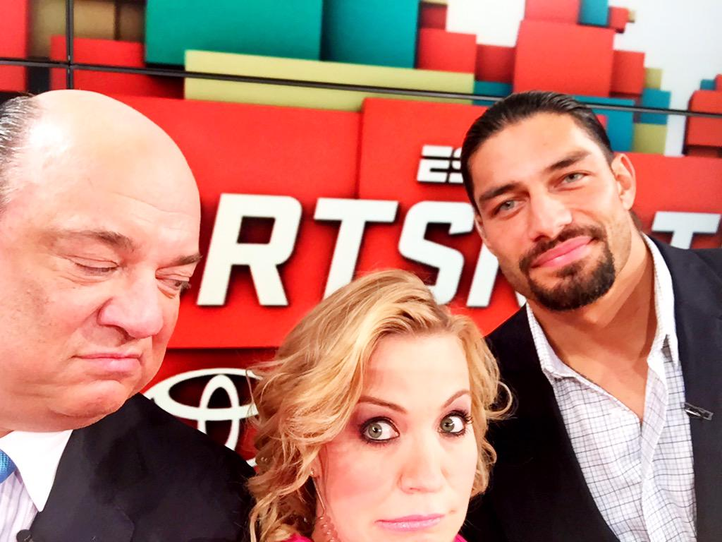 Sportsnation is on at 6:30 eastern today on the deuce.  Join us...or else...@HeymanHustle @WWERomanReigns http://t.co/PgcLm1XkSU