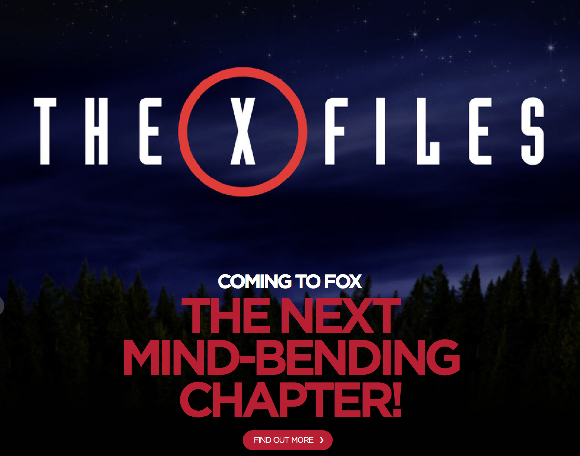 It's true: #TheXFiles is returning! http://t.co/7Kb4x3HzWj http://t.co/NKRlY2caqU
