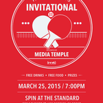 Check out our 2nd Annual Table Tennis Invitational tomorrow night at The Standard. RSVP here: http://t.co/wouLrii777 http://t.co/zp3W95qIEW