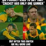 RT @SaranamMusical: Why only one winner? Feel us to think after  #NZvSA match.. #SAvsNZ #RSAvsNZ #CWC15 #WorldCup2015 #semifinaleup http://…