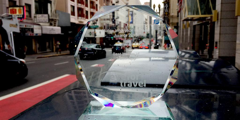 """Thank YOU for voting for us to be @EyeForTravel's """"Best Mobile Travel App"""" & for trusting #TripCase w/ your travels http://t.co/zvOxD9CFYk"""