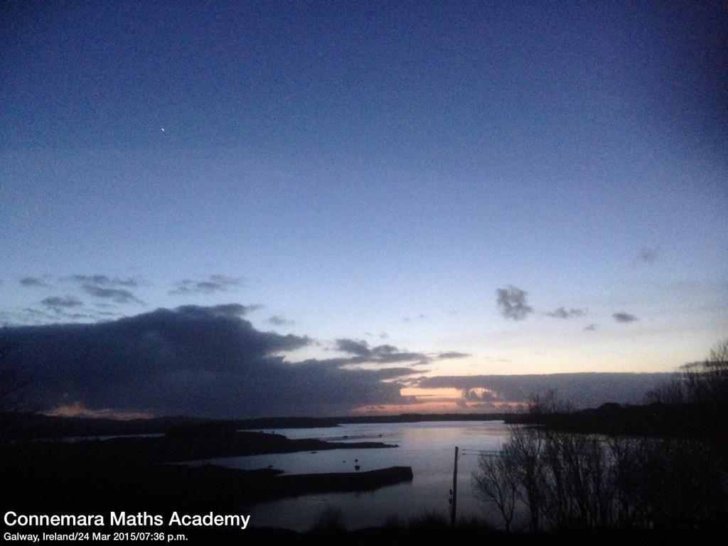 Spring Evening just after Sunset #Connemara @Failte_Ireland @deric_hartigan @All_Connemara http://t.co/O24dt6zJ42