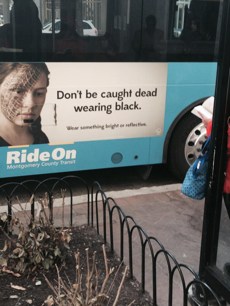 Wow MT @ShaneFarthing frustrated that bike-ped money pays for this. Safety education is not same as victim blaming http://t.co/7KFhpgq1BW