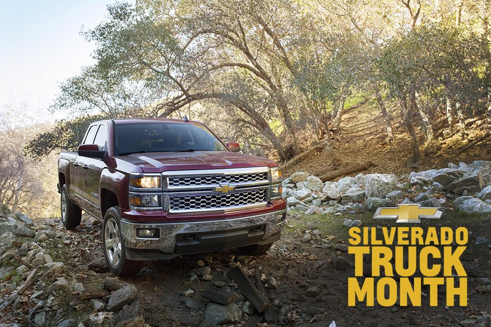 #Silverado #TruckMonth. Where high-strength steel meets tough to beat deals. http://t.co/lhCfOyA7lj http://t.co/R8L3W54APQ
