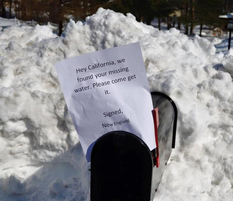'Miracle March' unlikely this year - #CADrought marches on. Statewide snow pack is 9% of avg. http://t.co/PzN6NalMBK http://t.co/62OUw3q3W6