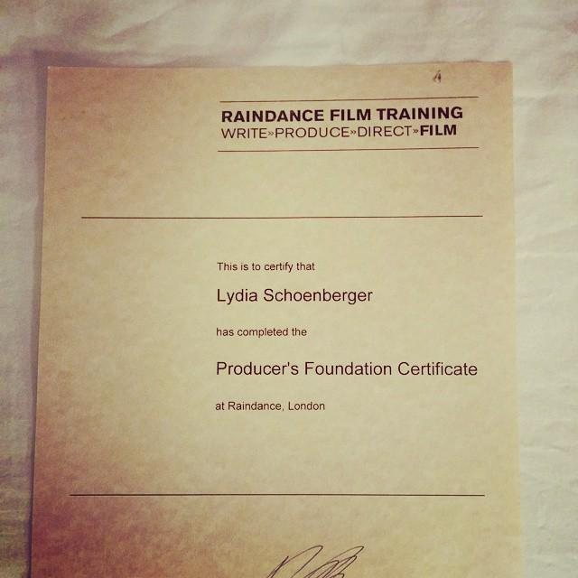 This is why I moved to London for 5 weeks. @raindance Amazing course, head still buzzing. #producing http://t.co/obFtQZPlA2