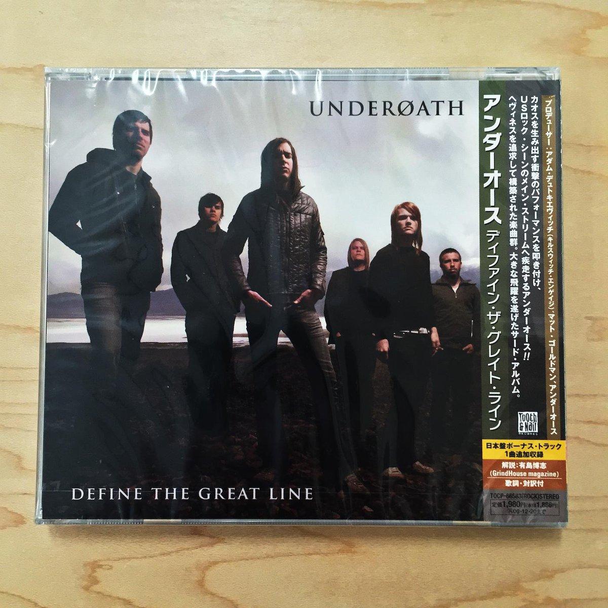 OK, here's a good one. Retweet (& Follow) for a shot to win this @UnderoathBand #DefineTheGreatLine JP import CD! http://t.co/3qFwuPbNoK