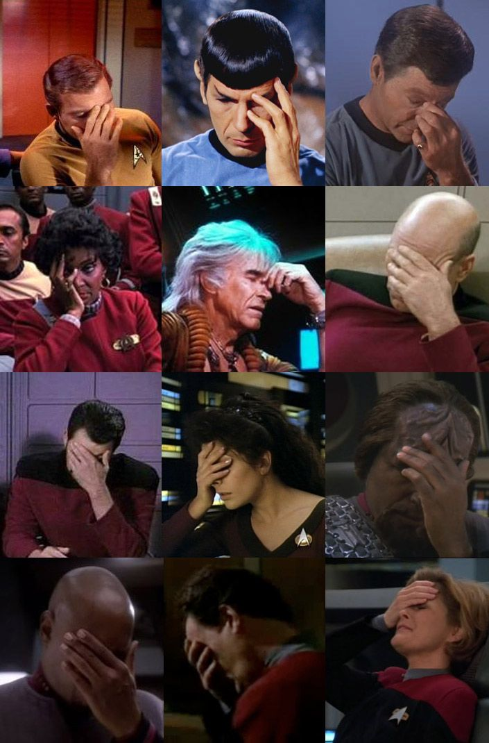 Horrible Deadline article, you've left me no choice. I must go FULL FACEPALM, from ALL of Star Trek! Happy now??! http://t.co/HC3FEY5CTW