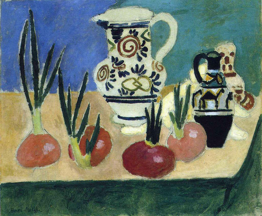 The Red Onions Henri Matisse (1906) #dailyart http://t.co/MYQxCR1HSa
