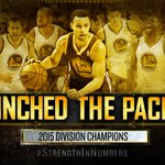 Pacific. Division. Champs. #StrengthInNumbers http://t.co/MKlHSowjyw