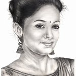 RT @PriyaManiWeb: Beautiful Pencil Sketch Art of @priyamani6 by #PrabhuVivek :-) http://t.co/ouOHSMCLVs