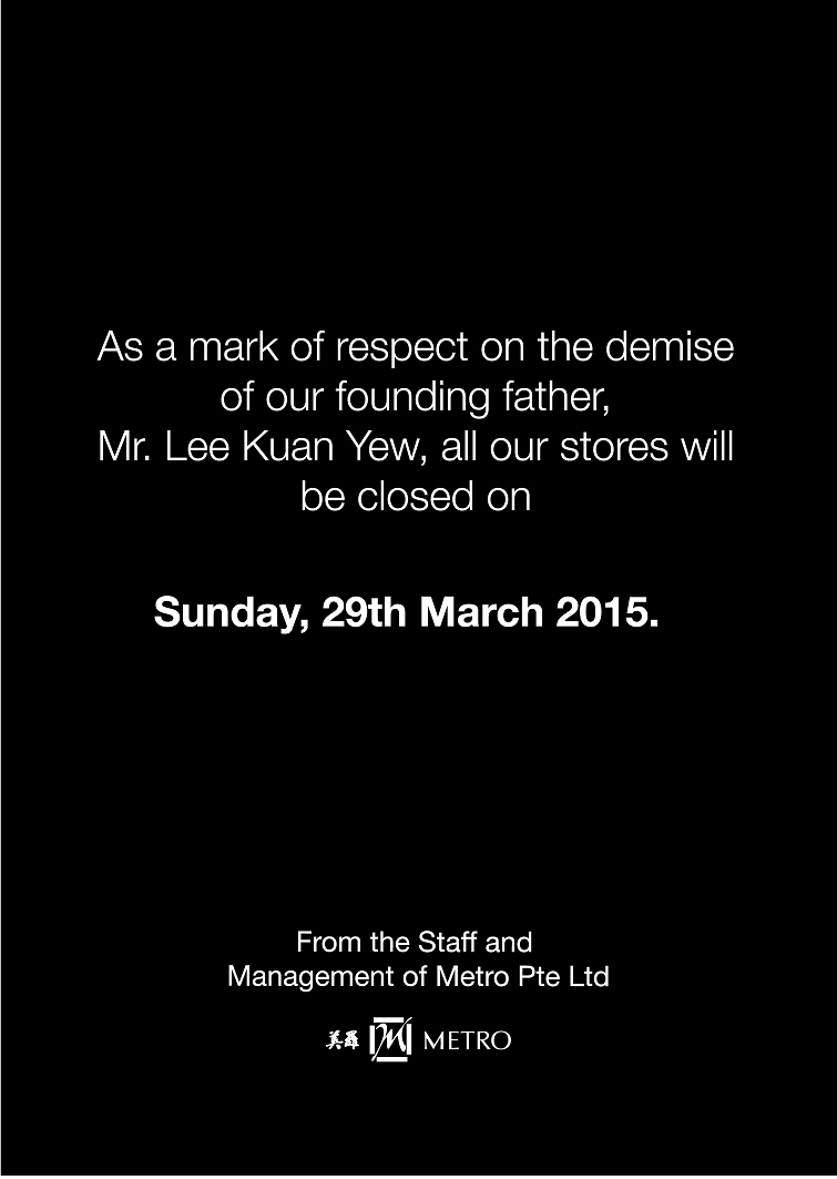 We are closed on 29 March 2015 http://t.co/3btYN2V93O