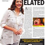 RT @sillijo: @LakshmiManchu Elated, The New Indian Express from 25th March