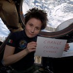 RT @AstroSamantha: Join #EarthHour this Saturday, switch off the lights at 8:30 pm local time: http://t.co/HYW0dhi7O4 http://t.co/TGXN8oAPfO