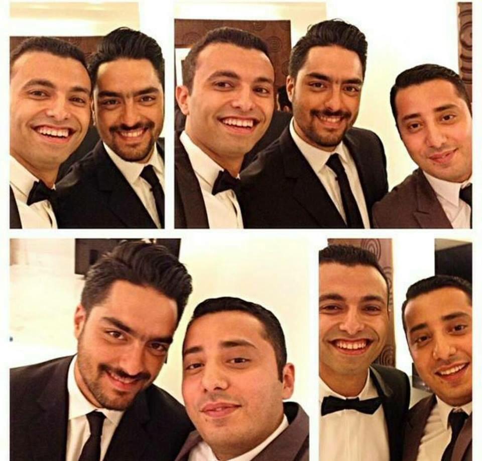 صور للمايسترو في حفل زفاف صديقه محمد الشاعر 💕 #حسن_الشافعي #hassan_team http://t.co/FWOUEabcYj