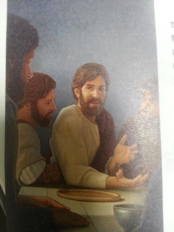 test ツイッターメディア - とてくのん(Toteknon) エホバの証人さんのビラを見たんだけど、「短髪のイエス」が出て来た。 60~70年代のアメリカでヒッピーのロン毛と同一視されることを嫌って、通常のプロテスタントなんかでもよく描かれたイエス像。 https://t.co/iCaeONzbuK