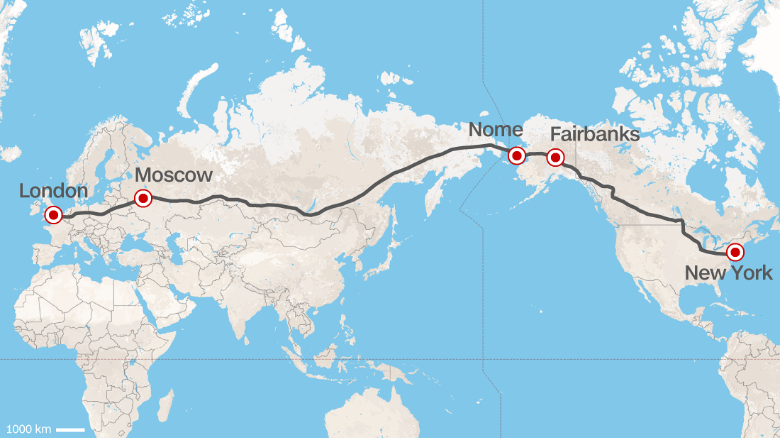 Drive from London to NYC? Russia proposes world's greatest superhighway/railway  http://t.co/Web97w0YeJ  via CNN http://t.co/u0cLuyyx2T