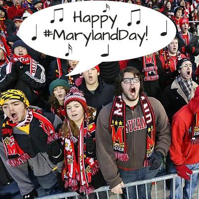 Sing it loud!  Sing it proud!  It's OUR #MarylandDay! http://t.co/WjtdowYWes