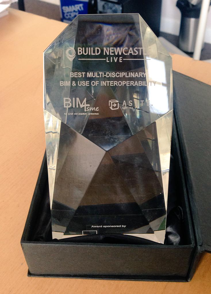 RT @bimacademy: Look what arrived in the office today! Well done team #NE1forBIM @buildearthlive #BNL http://t.co/DGV7dBStLr