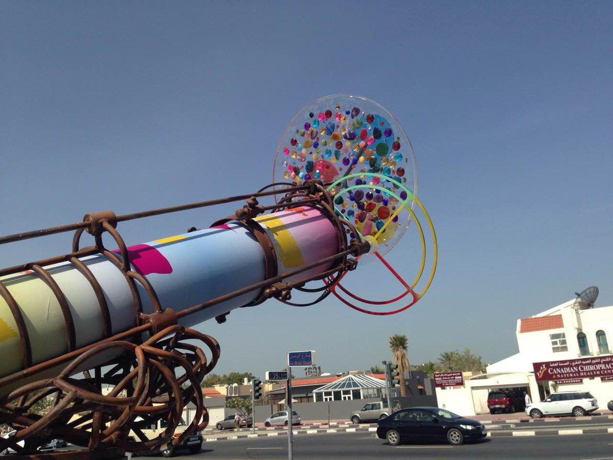 اتجه اليوم إلى بوكس بارك وابحث عن تلسكوب كاليدوسكوب لتشاهد العالم من منظور مختلف والموجود حتى نهاية أبريل. http://t.co/r8JUsmTuPt