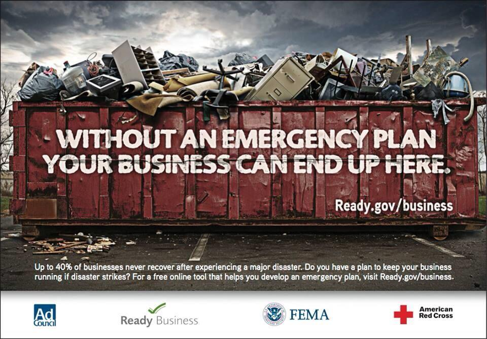 Every #business needs a #FloodSafety plan. Tips: http://t.co/M41NL8swU9 #IASWAW #SWAW http://t.co/9Rjw8KMESI