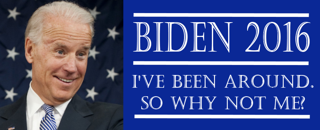 The 'Draft Joe Biden' super PAC is a thing that actually exists
