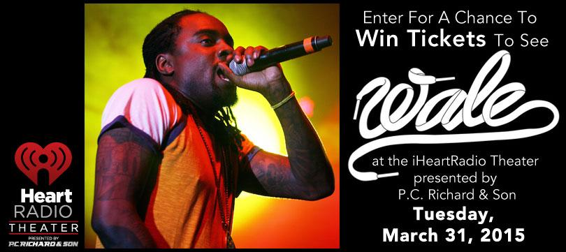 Win Tix to @Wale private show at the @iHeartRadio Theater! GOOD LUCK! http://t.co/qNuwdVBvM5 http://t.co/ZgZ4b1LvSl