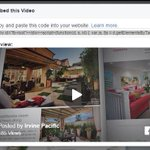 You can now embed Facebook videos outside of Facebook. Go to the video, choose