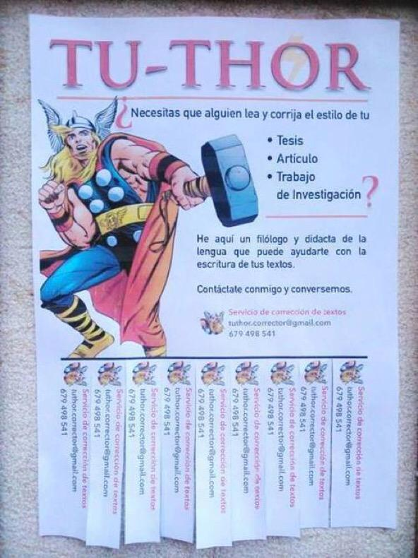 Tu-Thor a domicilio. Anuncios originales (vía @RMtnezS) http://t.co/FbIkiakkpD
