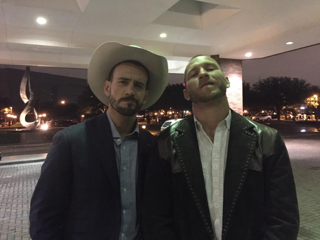 New show coming to @UFCFightPass? The @CMPunk and @Cowboycerrone Show. Check your local listings. http://t.co/bHeDVU3tSY