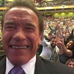Selfie time is over. The @ArnoldClassicAu is LIVE now. WATCH: http://t.co/3U80rV8DS4 http://t.co/K56WS2jxQW