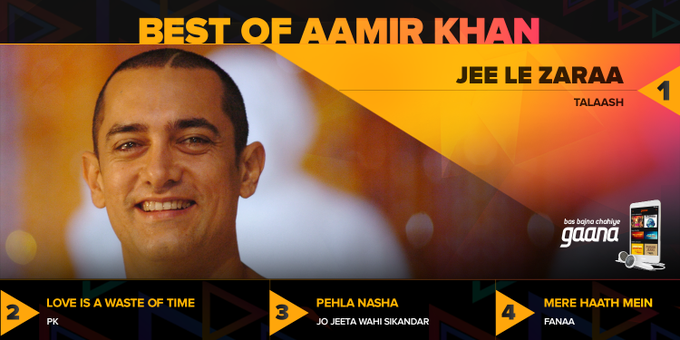 Happy Birthday Aamir Khan! Here\s to 50 years of a brilliant actor & role model -