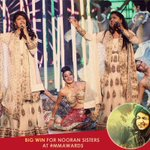 RT @Mirchi983FM: The #NooranSisters take home the Upcoming Female Vocalist & the Female Vocalist of the year award at #MMAwards! http://t.c…