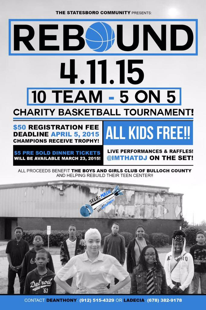 Get your team together and come help raise funds to rebuild the teen center at the Boys & Girls club http://t.co/t0GLCwJj7d