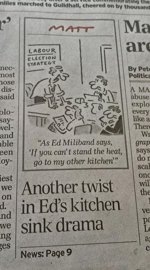 #EdsKitchen in the @Telegraph http://t.co/rJS5o34I5d