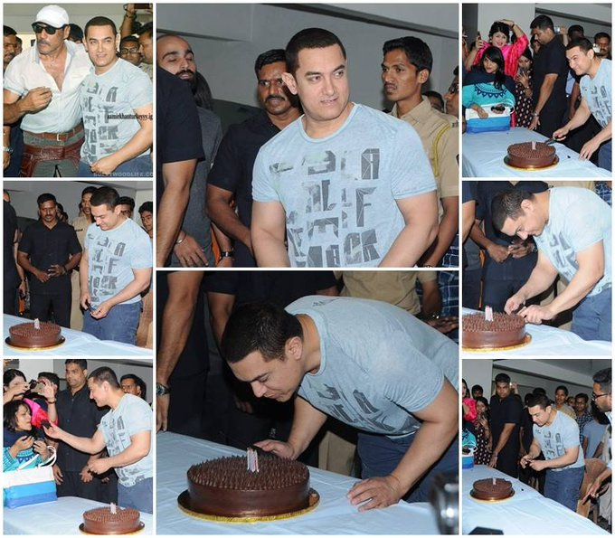 Yes, he is now 50 years old..  Happy Birthday Aamir Khan