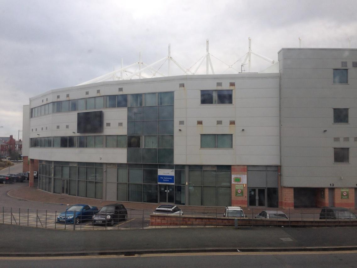View from the hotel room - Blackpool FC http://t.co/UegAohRfDh