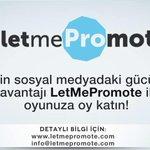 """""""erayakpinar"""" Merhabalar. Seçimlerde reklamınızı @letmepromotee ile yapın. @mochtemelen http://t.co/wRFB17I6BB"""