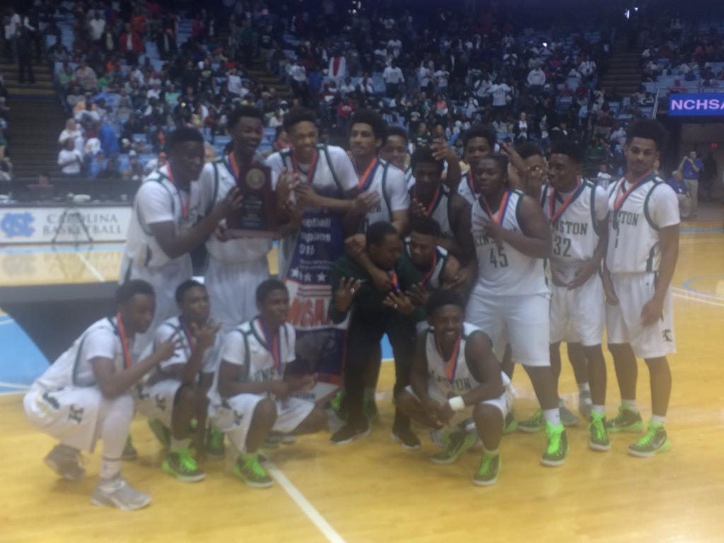 Congrats to Kinston - 4x reigning 2A Mens Basketball State Champions! http://t.co/t3LXgeKlhI