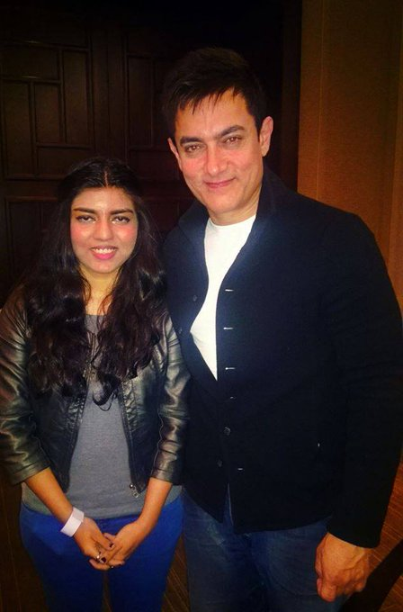 Happy Birthday Aamir Khan. I ll Never Forget The First Time We Met <3