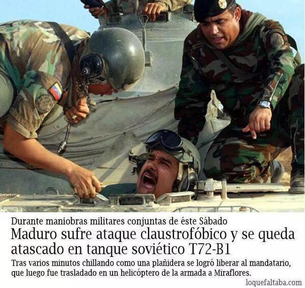 ClaudiaBeatriz (@Clanover): Tenia que ser el Chavo del 8! #fueramaduro http://t.co/EiRqsfseqj
