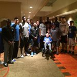 So glad we got to meet Gavin Santo and his family. #BBN, please say a prayer for Gavin and his family. http://t.co/vBb60UyvHm