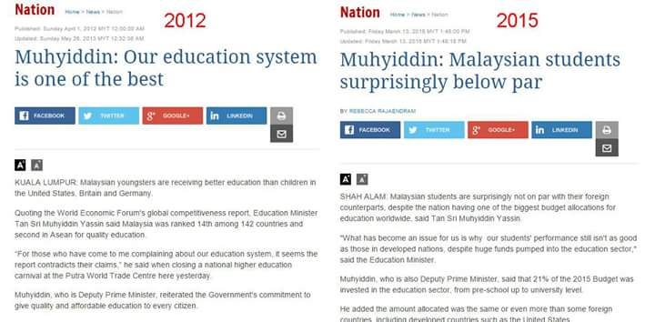 Took Muhyiddin 3 years to wake up from his deep slumber. http://t.co/oZmMBOixKn