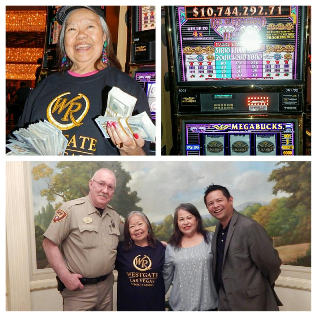What a day a @Westgate_LV! Trinidad from Utah hit a $10,744,292.71 jackpot on Megabucks! http://t.co/hWpAaILX2n