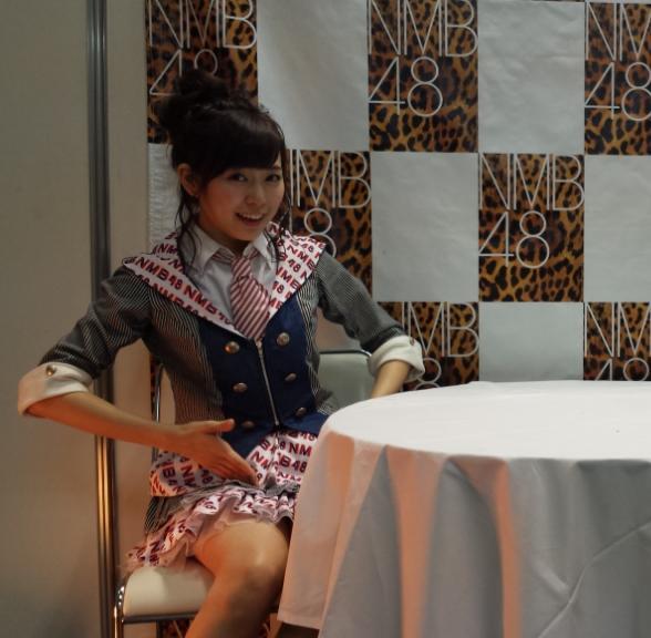 5部 渡辺美優紀さん   #レーン入った瞬間の笑顔にとろけた  #渡辺コマネチ美優紀さん  #立ってないからできへんって笑ってたloveである http://t.co/VTulVh0GIk