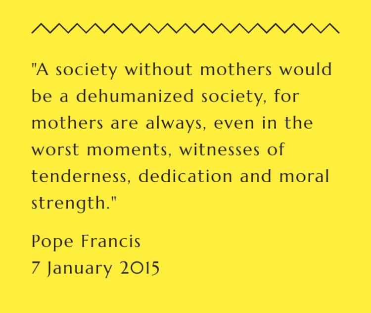 Pope Francis speaking about mothers ... #MotheringSunday http://t.co/OTqgrZ9gVk
