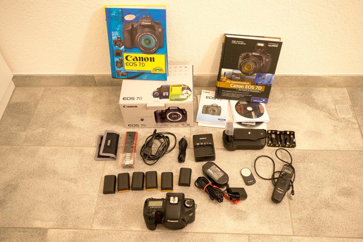 Jemand Interesse an einer Canon EOS 7D Spiegelreflexkamera, mit allem drum und dran? http://t.co/kvV4fzvx76