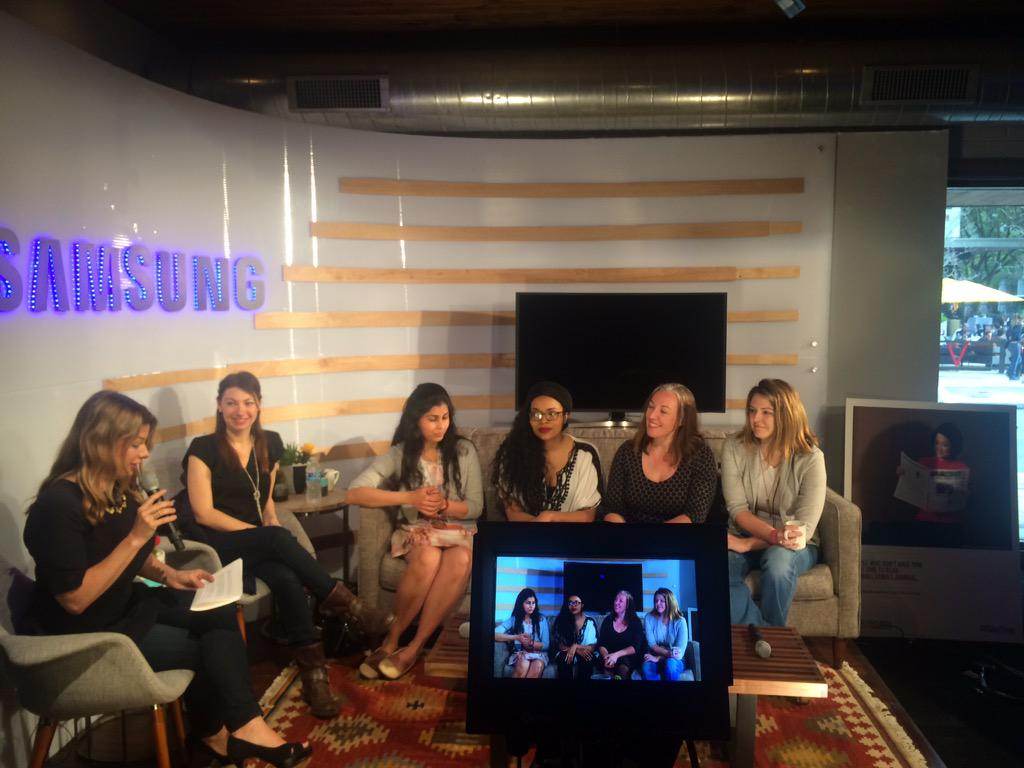 Women in Tech: What Now? Smart ladies #maketime to sound off w/ @thelist @WSJ @Spotify #SXSW http://t.co/yAJJzmCv2K http://t.co/xuW4QyrYcc