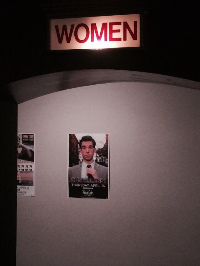 RT @boburnham: @mulaney hope carnegie hall was fun, John. Royal Oak Music Hall is waiting. http://t.co/pJDPxN91c8