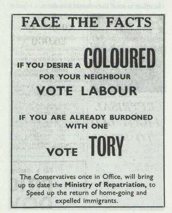Shame on the #tories #britainsracistelection http://t.co/q5CwUdu1YB